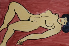 Liegender-Akt-Acryl-2004