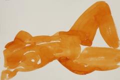 Liegender-Akt-Aquarell-1991