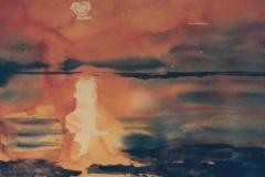 Sonnenuntergang-Aquarell-1991