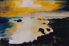 Sonnenuntergang-II-Aquarell-2002