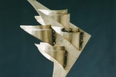 Vogelform-II-Edelstahl-35-cm-1984