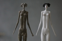 Geschwister-Bronce-Polyester-45-cm-2013