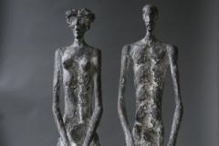 Menschenpaar-Bronce-60-cm-2010