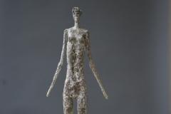 Stehende-mit-Struktur-Bronce-40-cm-2013